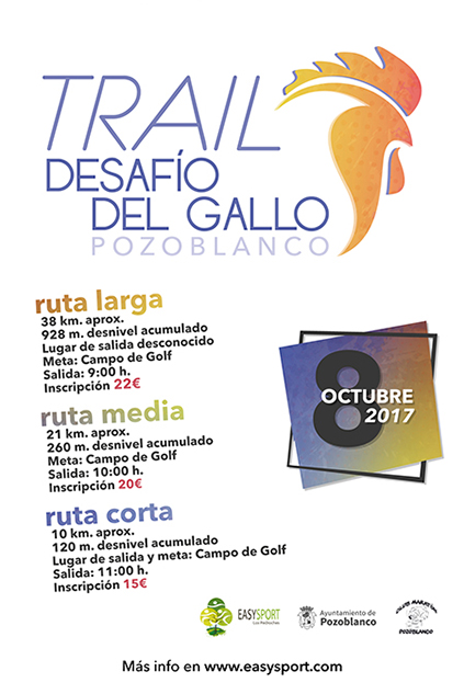 Trail Desafío del Gallo 2017
