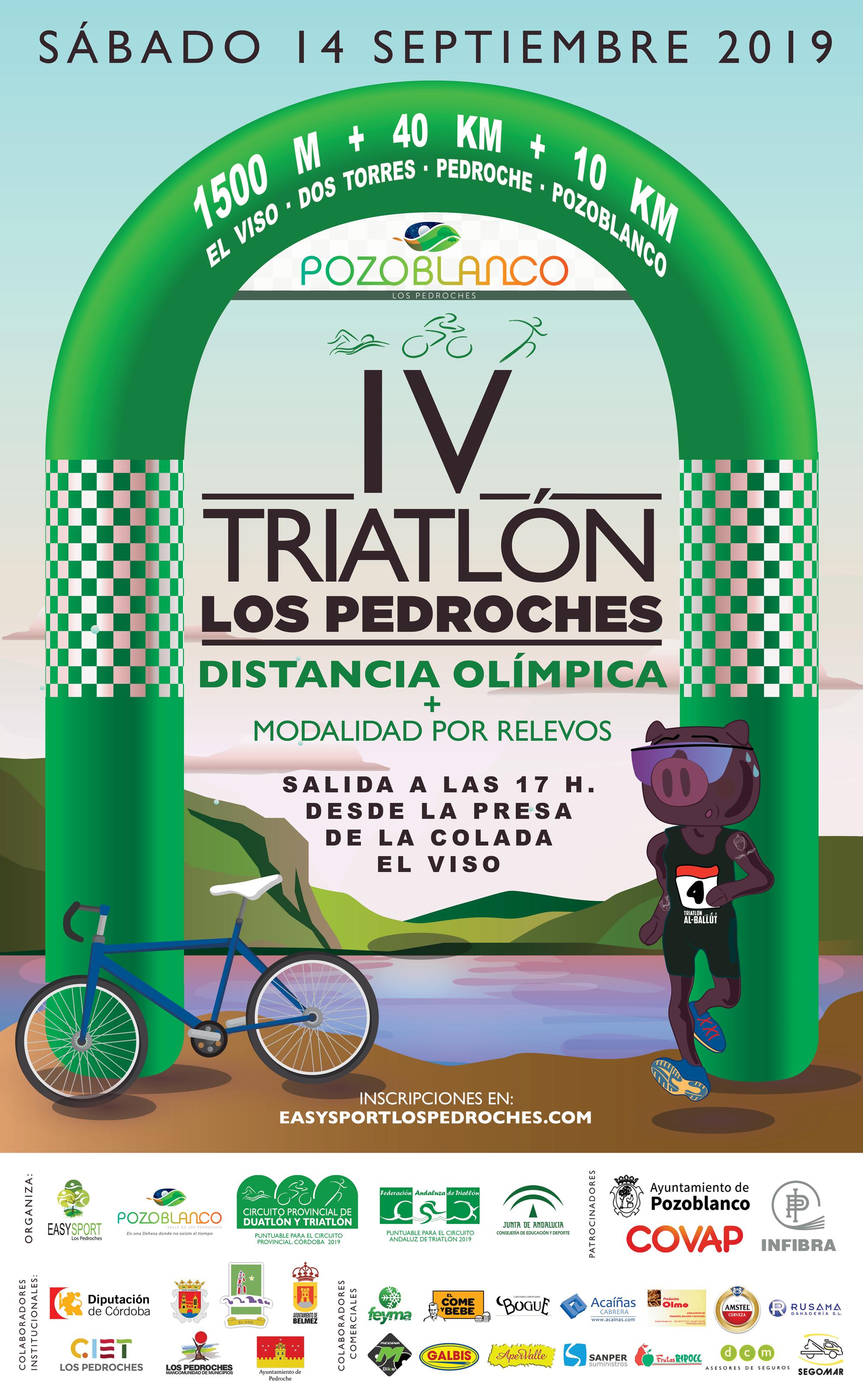 I Triatlón Los Pedroches 2019